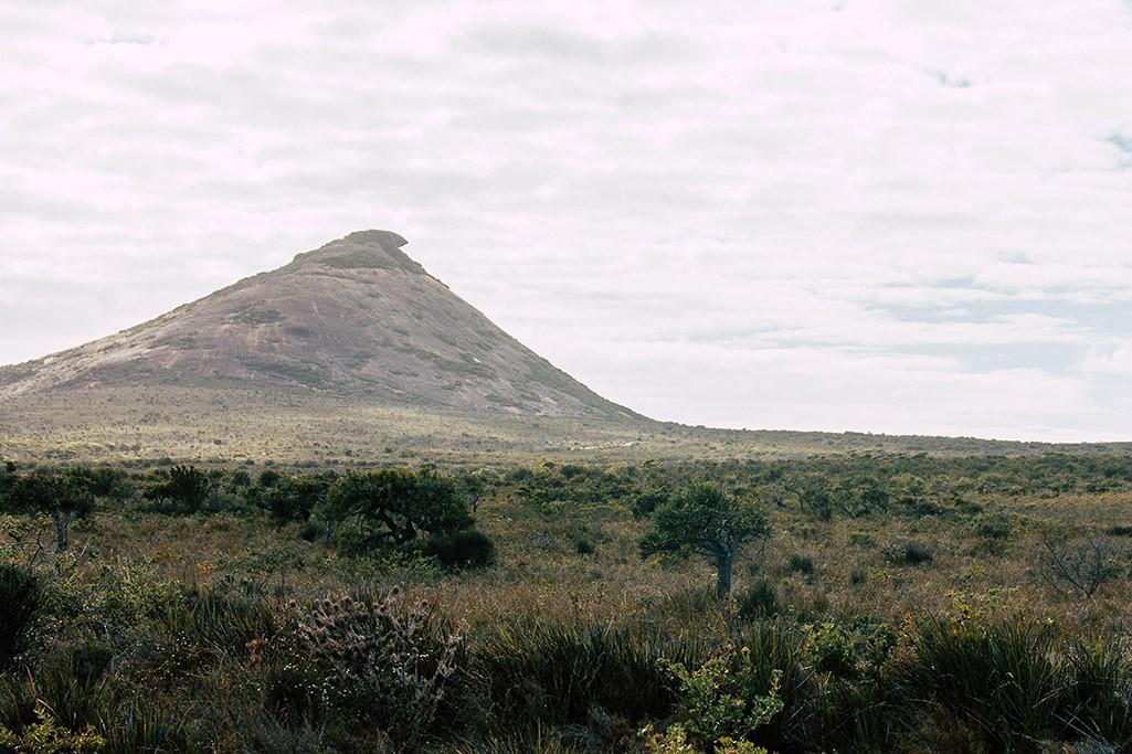 Blick auf den Frenchman Peak