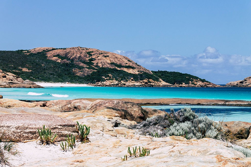 Strandabschnitt im Cape Le Grand Nationalpark