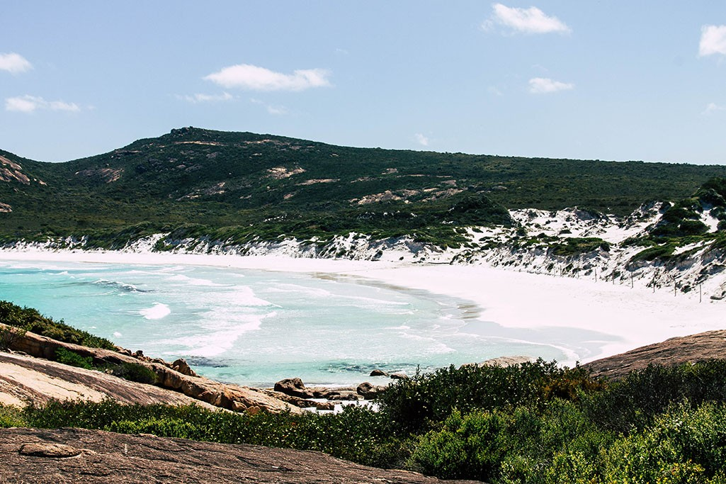 Blick auf die Thistle Cove im Cape Le Grand Nationalpark