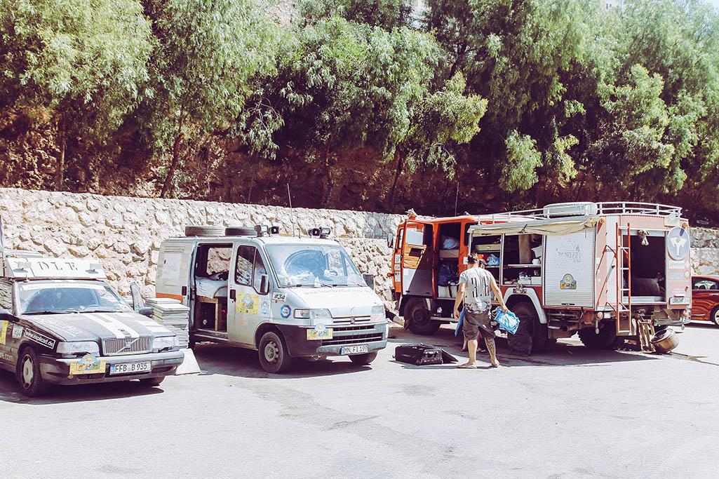 Parkplatz in Amman