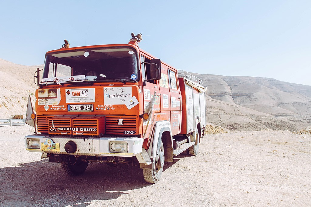 Magirus Deutz in Jordanien
