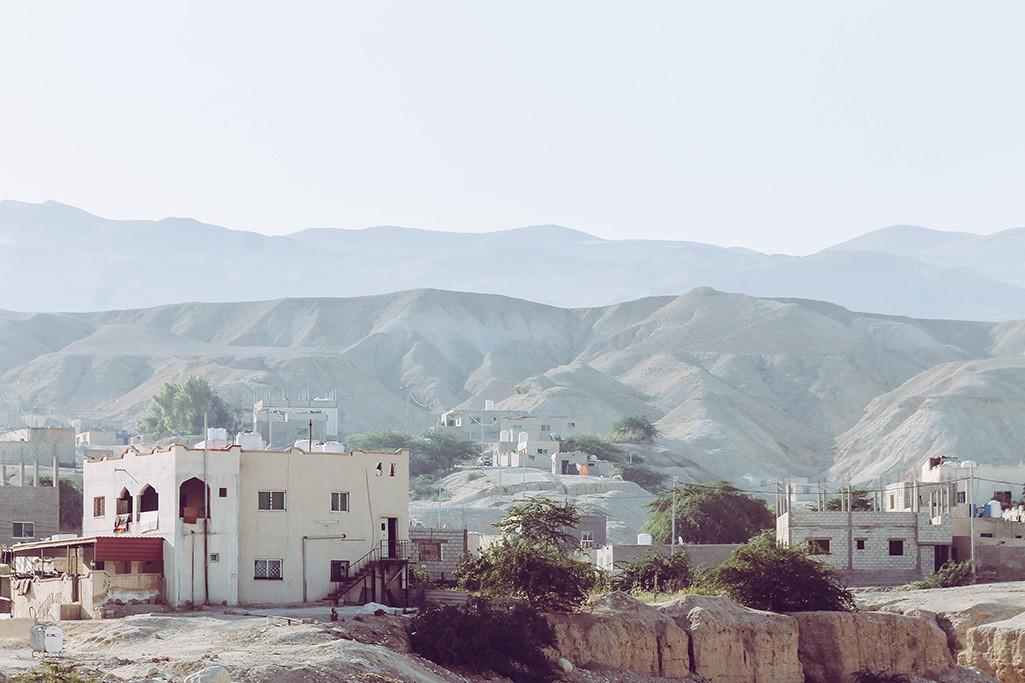 Haeuser in Jordanien