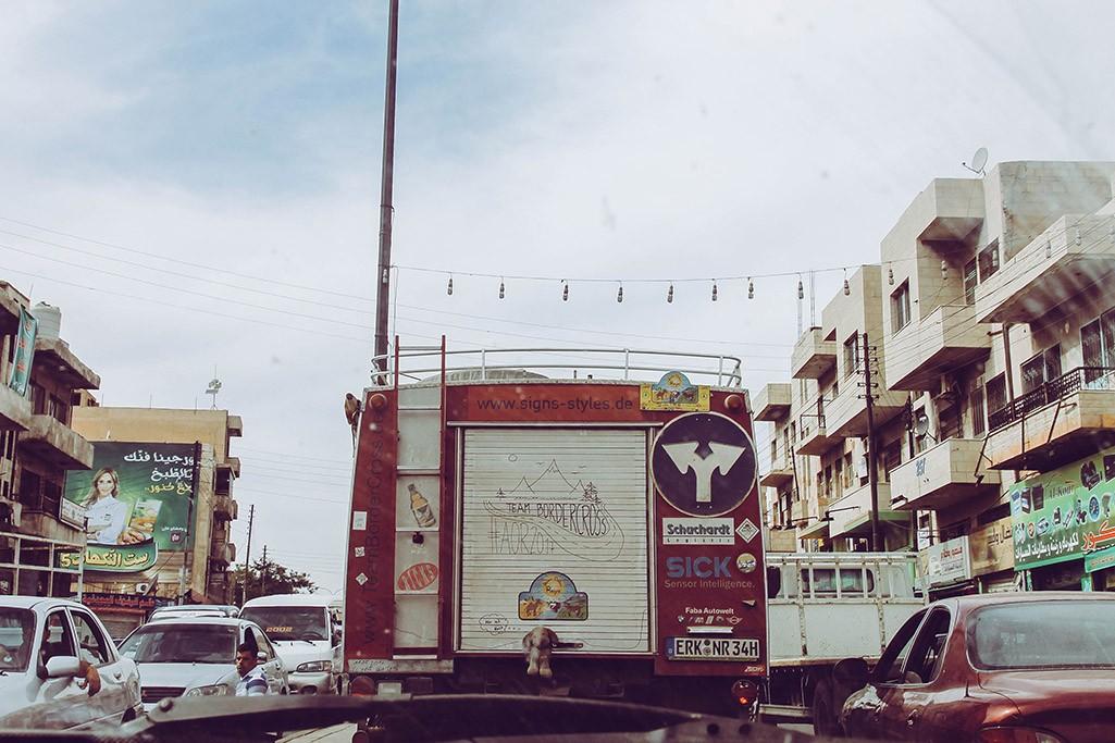Feuerwehr durch Amman