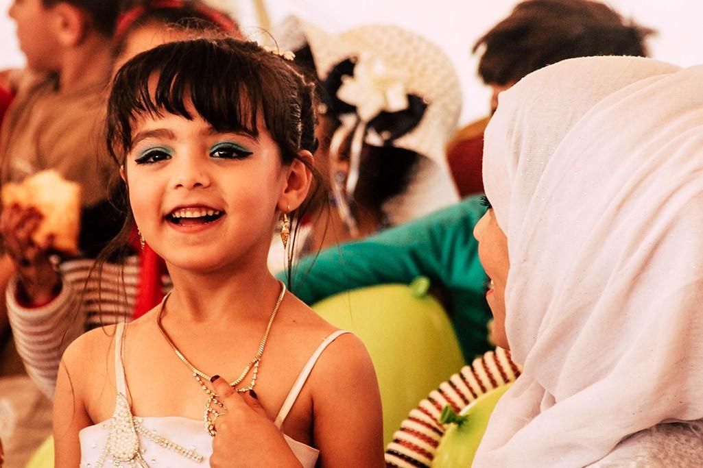 jordanisches Maedchen