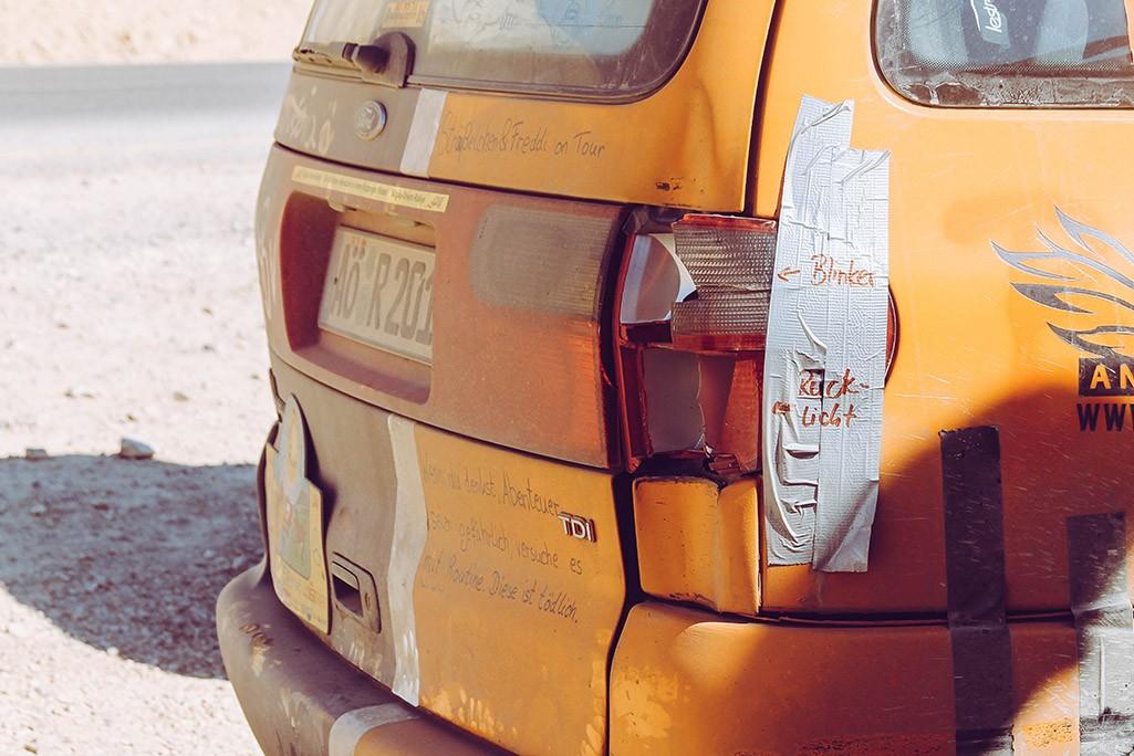 Auto in Jordanien