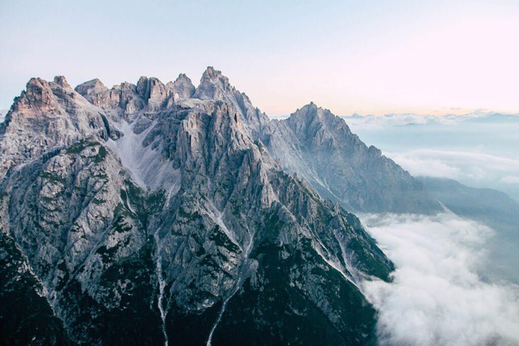 Aussicht von der Oberbachernspitze aus