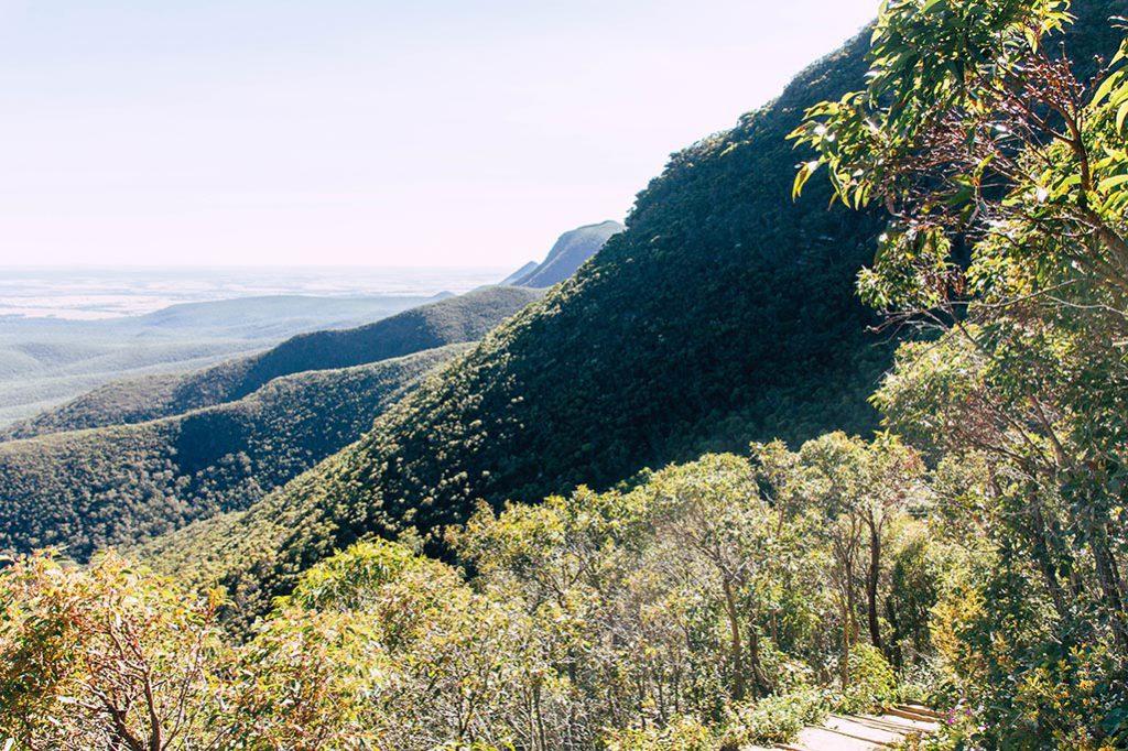 Wandern auf den hoechsten Berg Westaustraliens