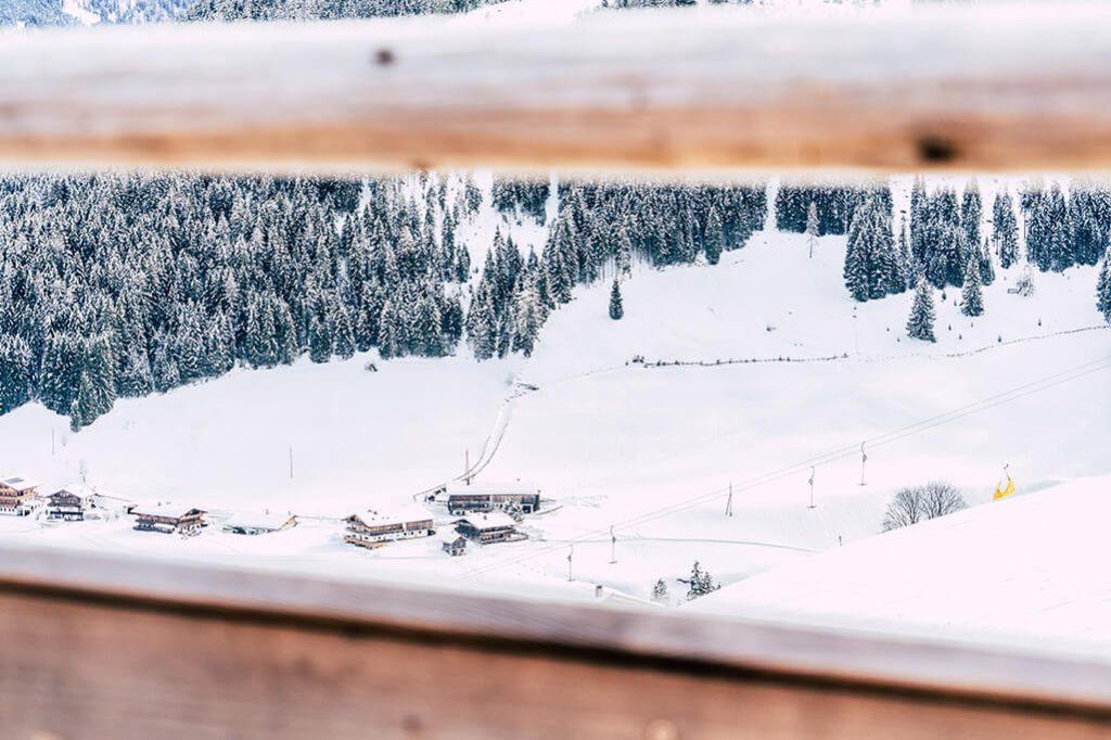 Aussicht von der Boeglalm im Alpbachtal