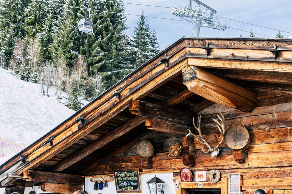 Die Boeglalm im Alpbachtal