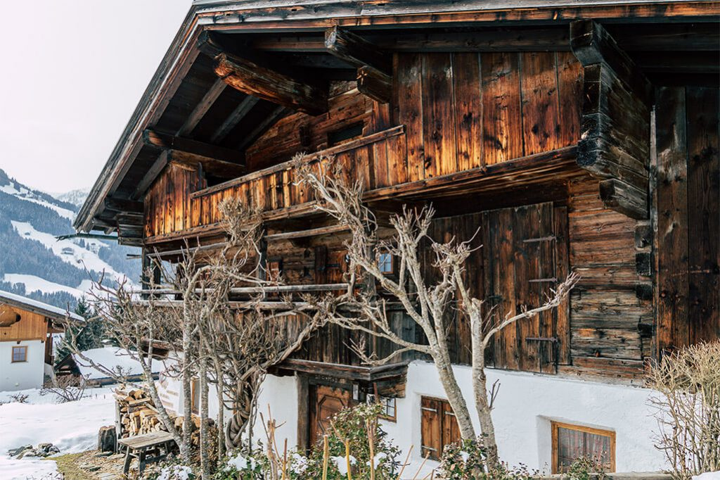 Holzhaus im Alpbachtal