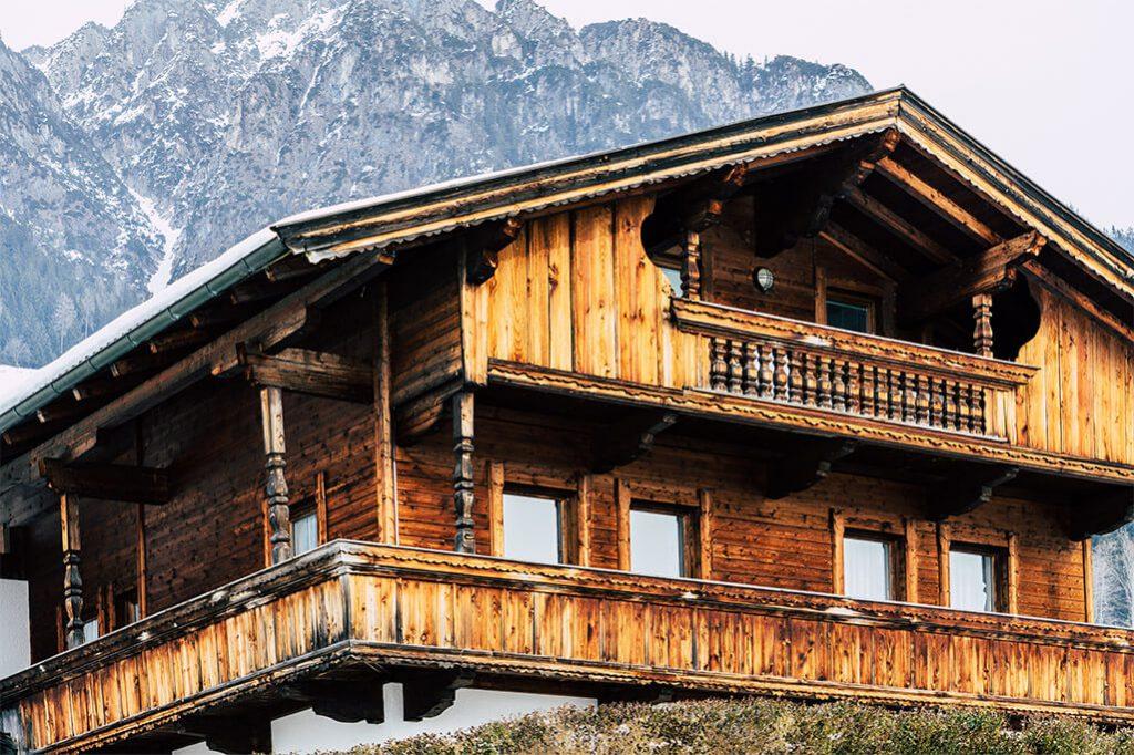 Holzhaus in Alpbach