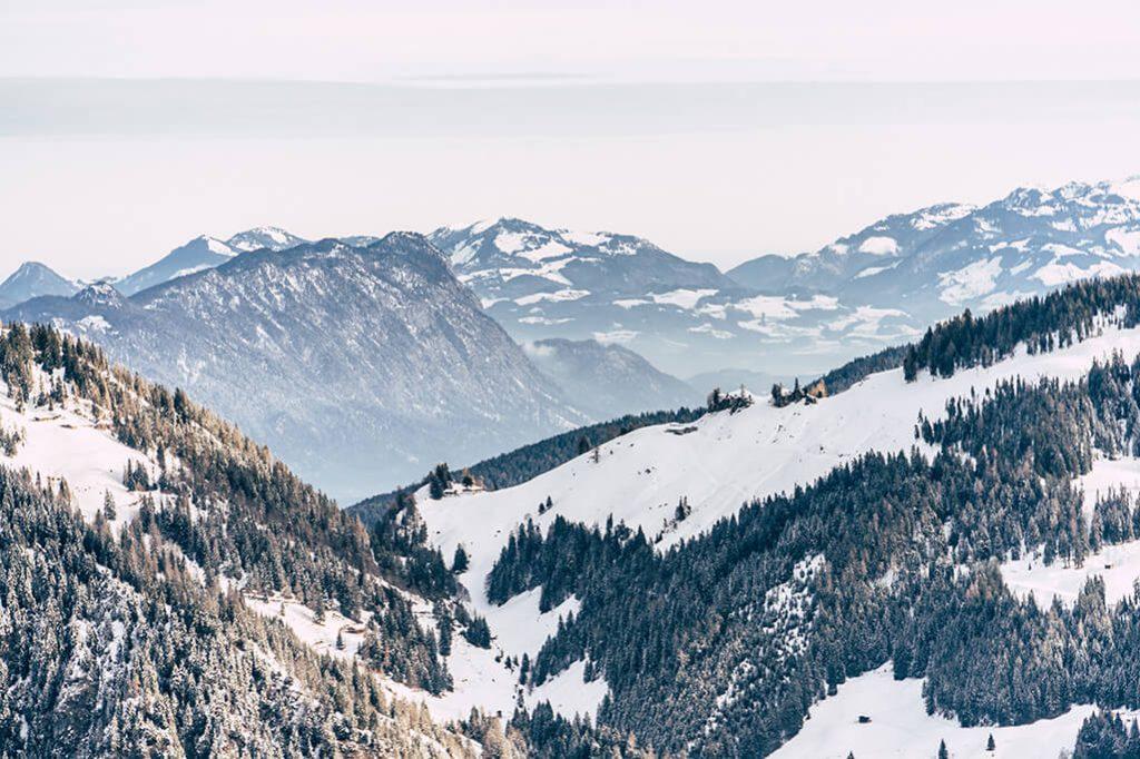 Aussicht ins hintere Alpbachtal