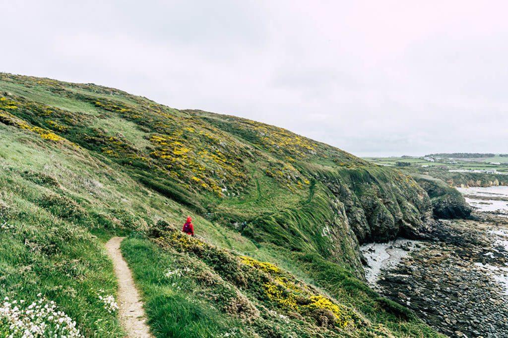 Wandern auf dem Anglesey Coastal Path