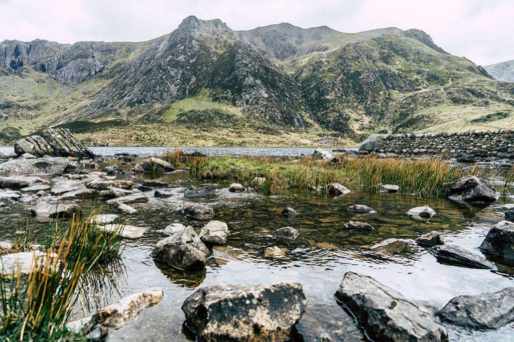 Lake Idwal im Snowdonia Nationalpark