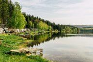 Campingplatz am Stausee Lipno