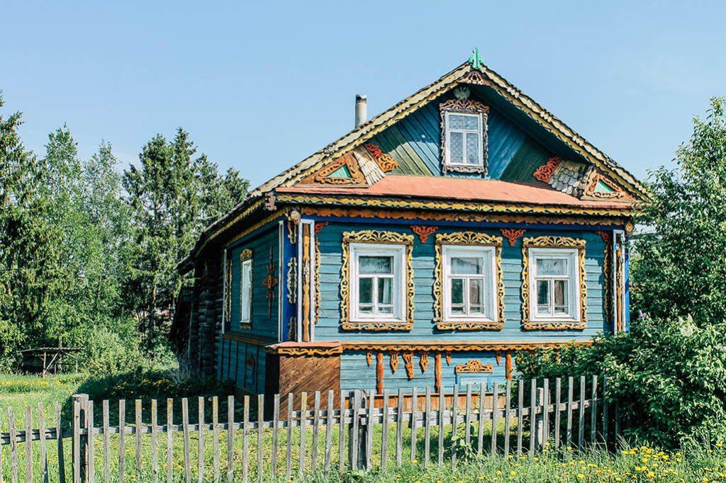Wohnhaus in Goritsy
