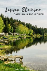 Camping am Stausee Lipno