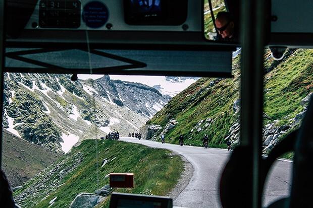Oetztaler Mopedmarathon auf der Hochalpenstrasse bei Soelden
