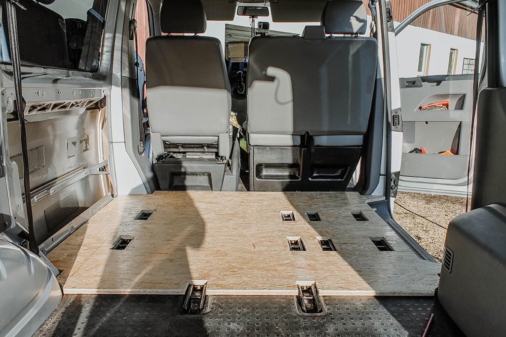 Teilstücke OSB-Platte Bodenplatte VW T5