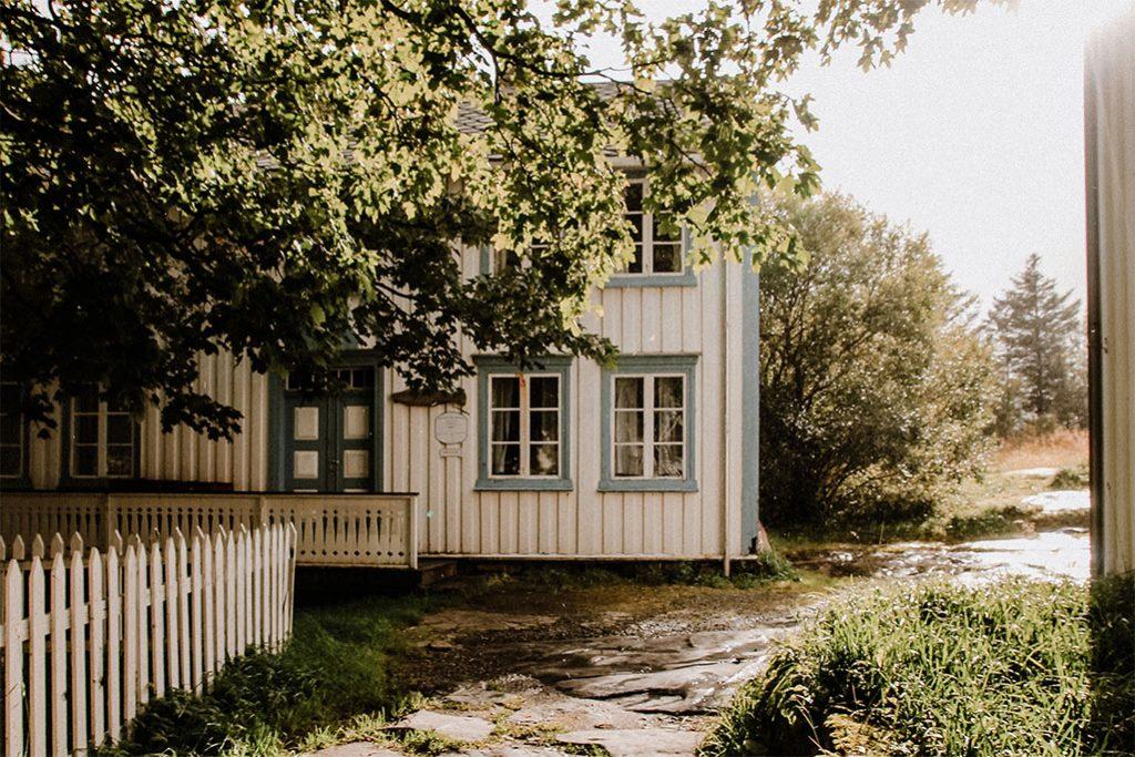 Haus in A im suedlichsten Ort der Lofoten