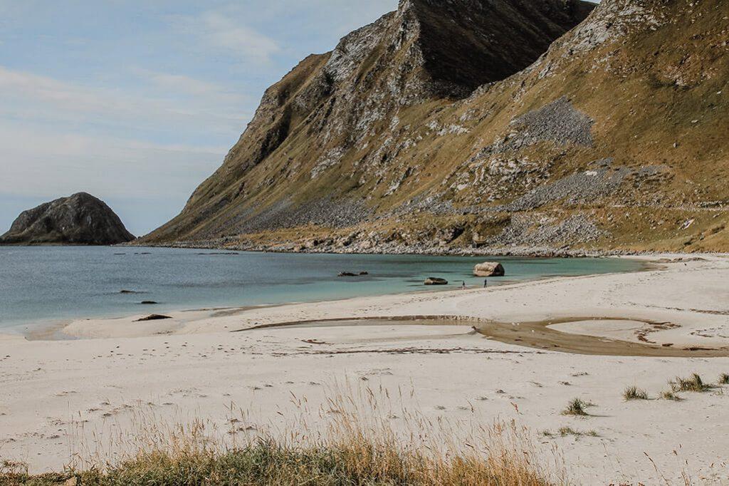 Strand bei Haukland auf den Lofoten