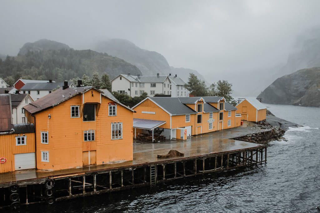 Lofoten Sehenswuerdigkeiten Nusfjord