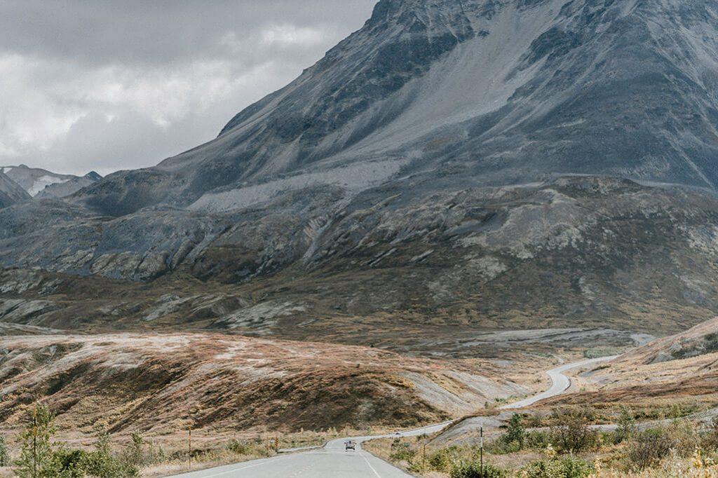 Haines Highway Richtung Alaska