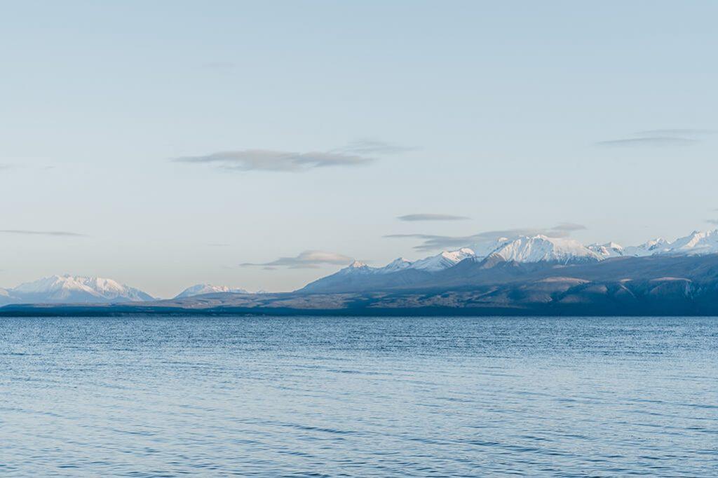Blick auf die Berge vom Kluane Nationalpark