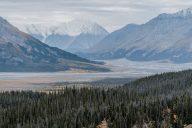 Bergkette im Kluane Nationalpark