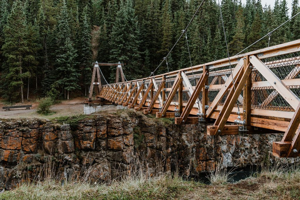 Bruecke am Miles Canyon bei Whitehorse