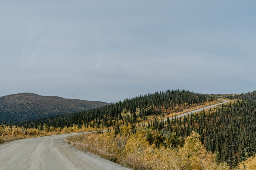 Top of the World Highway im Yukon