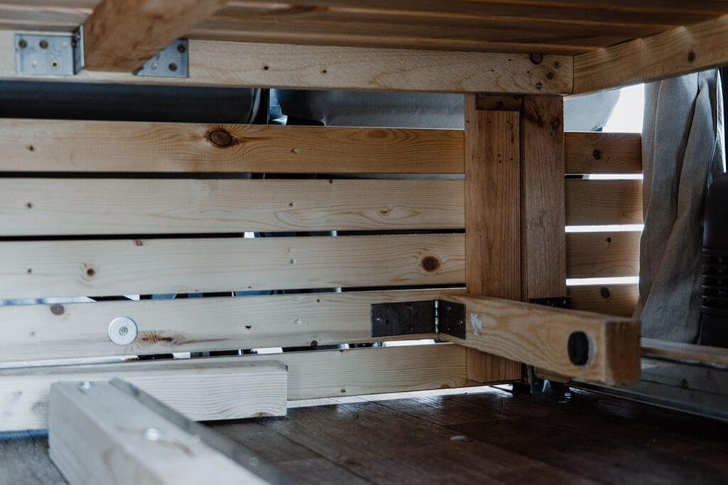 Bett in VW T5 selber bauen