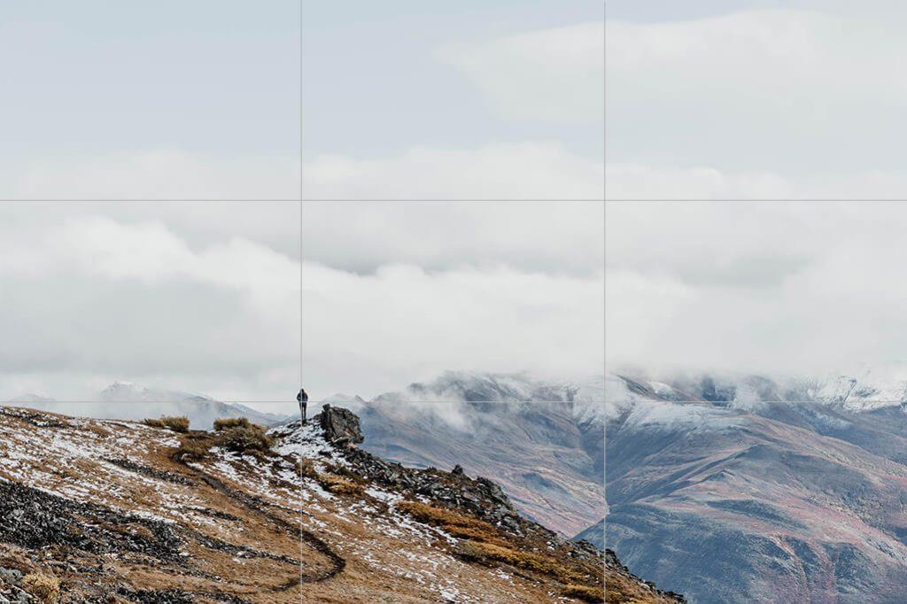 Fotografie Tipps in der Landschaftsfotografie - die Drittelregel