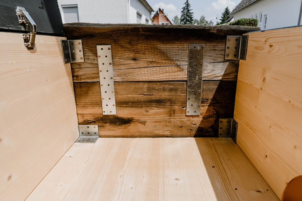 Innenansicht Schublade Ausbauanleitung