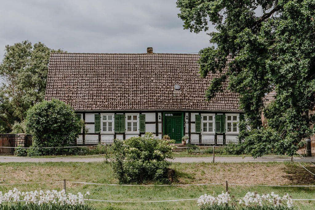 Haus in Neulietzegöricke im Oderbruch