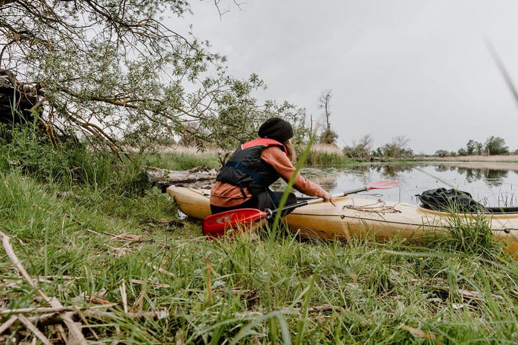Kanutour auf der Oder