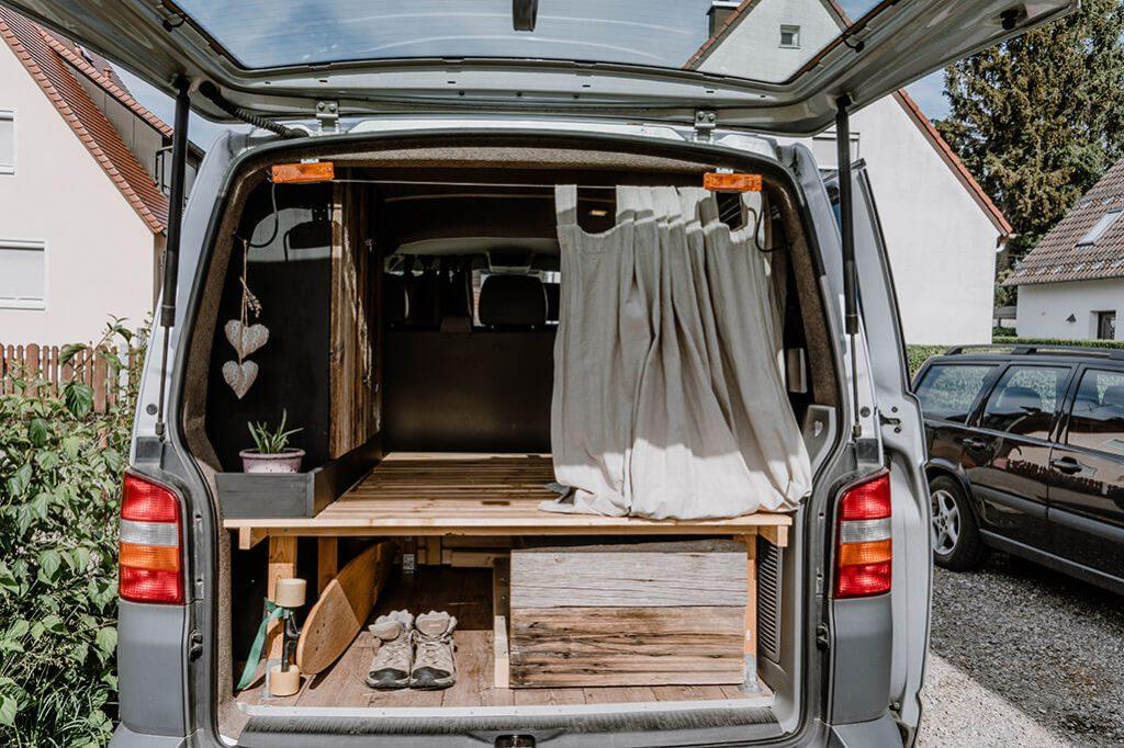 Schublade im Campervan