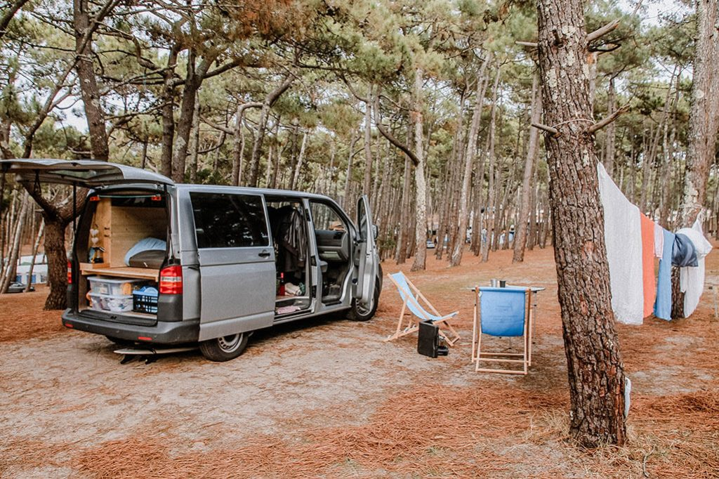 Campingplatz in Aquitanien