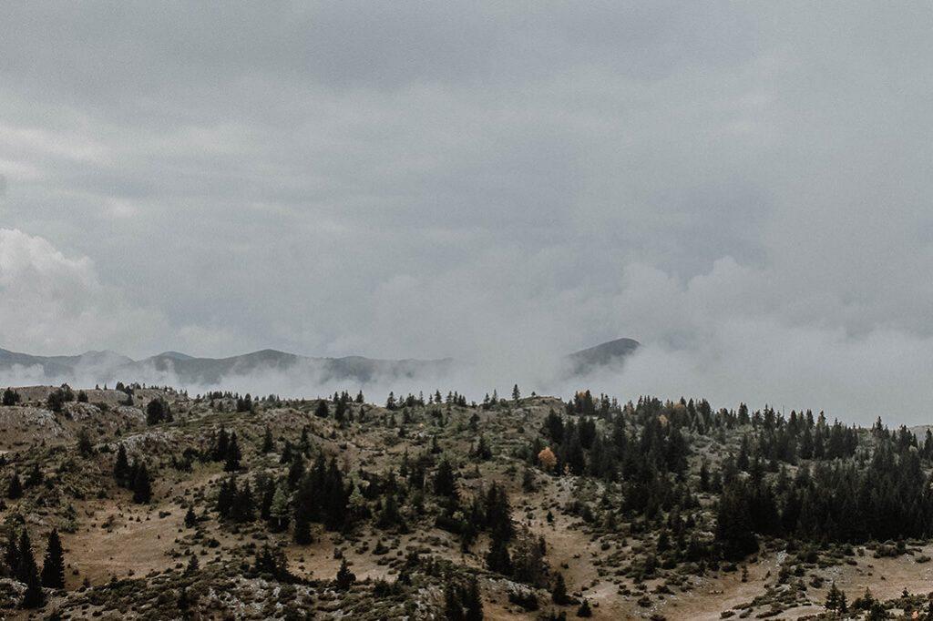 Aussicht im Durmitor Nationalpark in Montenegro