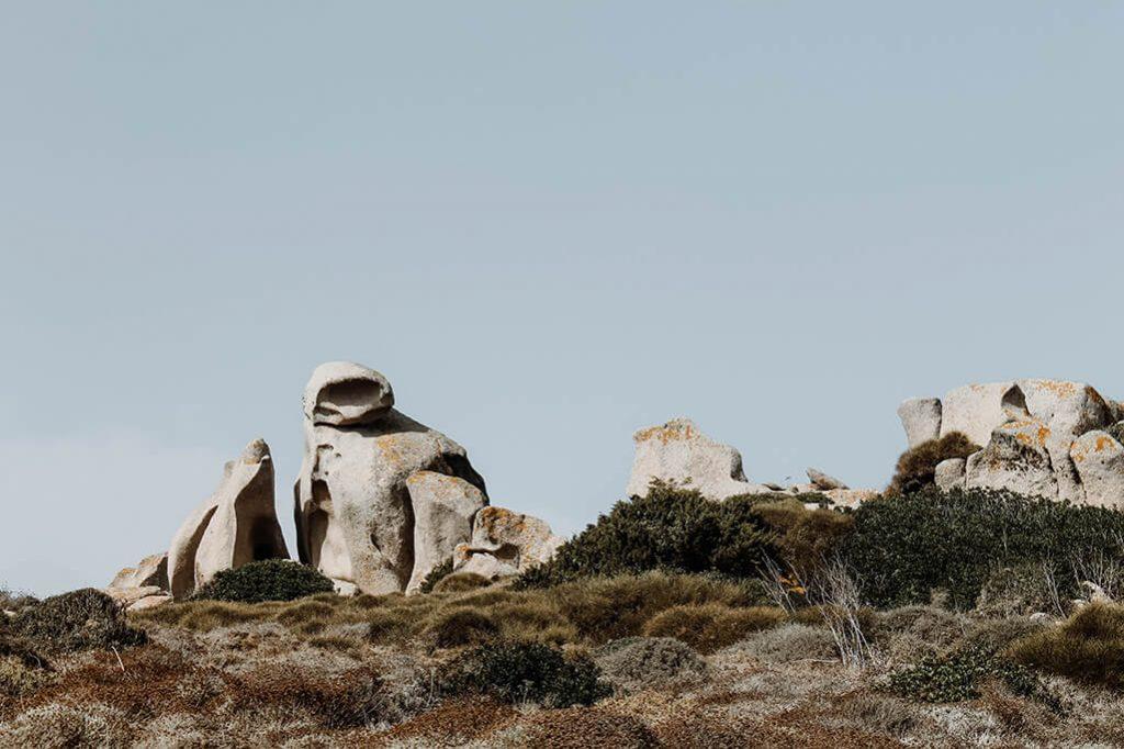 Capo Testa Sardinien