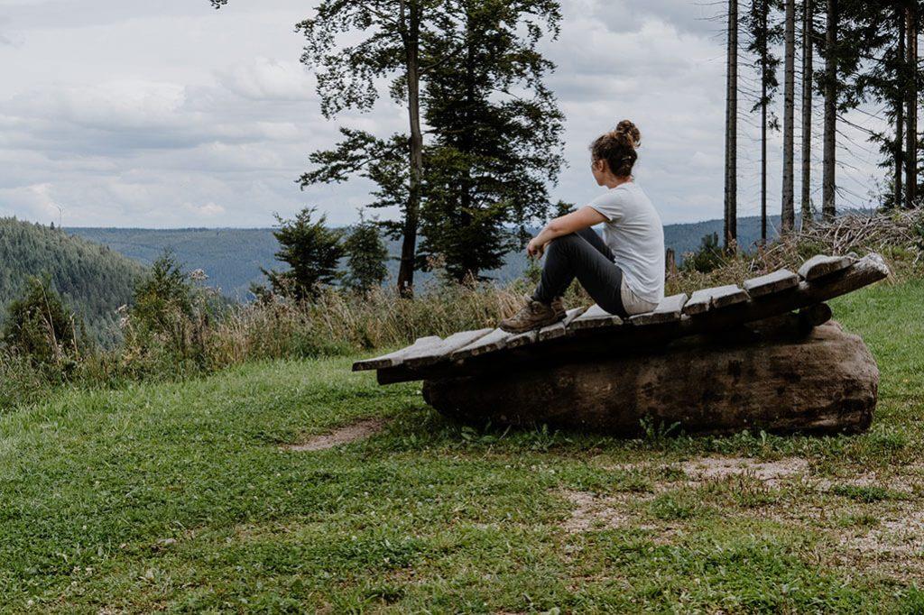 Aussichtspunkt Satteleisteig Baiersbronn