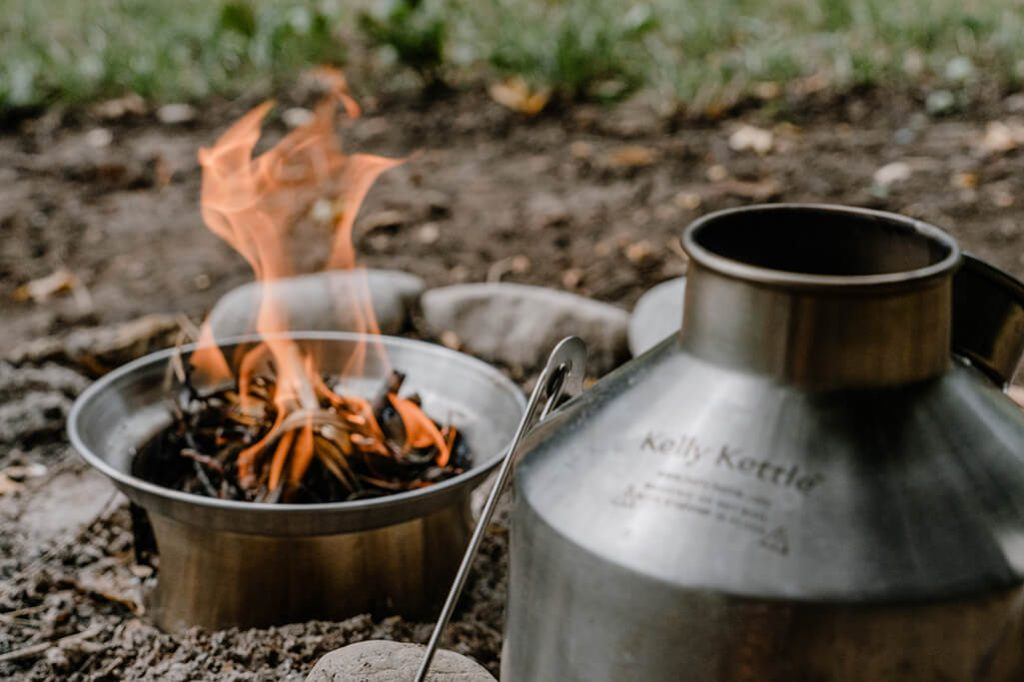 Kelly Kettle Feuer