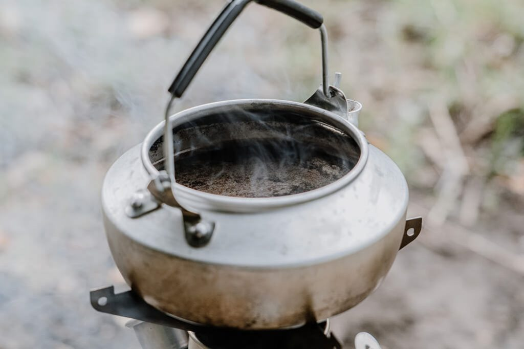 Kelly Kettle Kaffee