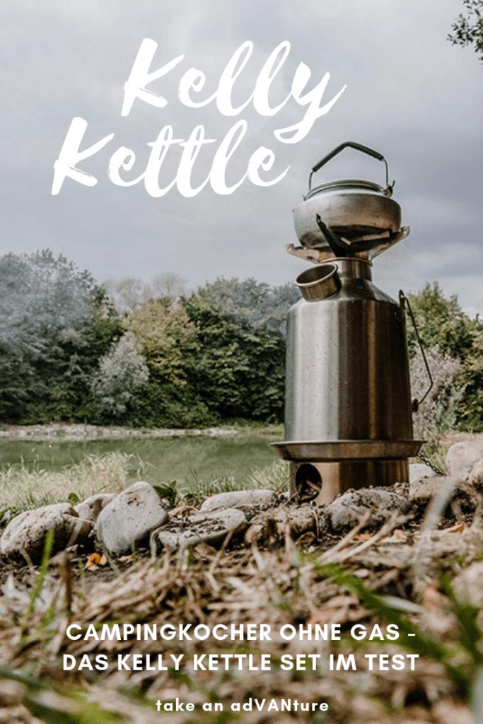 Campingkocher ohne Gas – das Kelly Kettle Set im Test