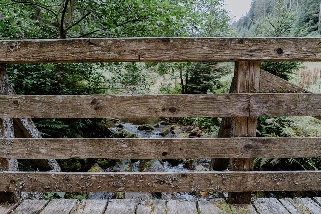 Brücke über den Sankenbach auf dem Seensteig