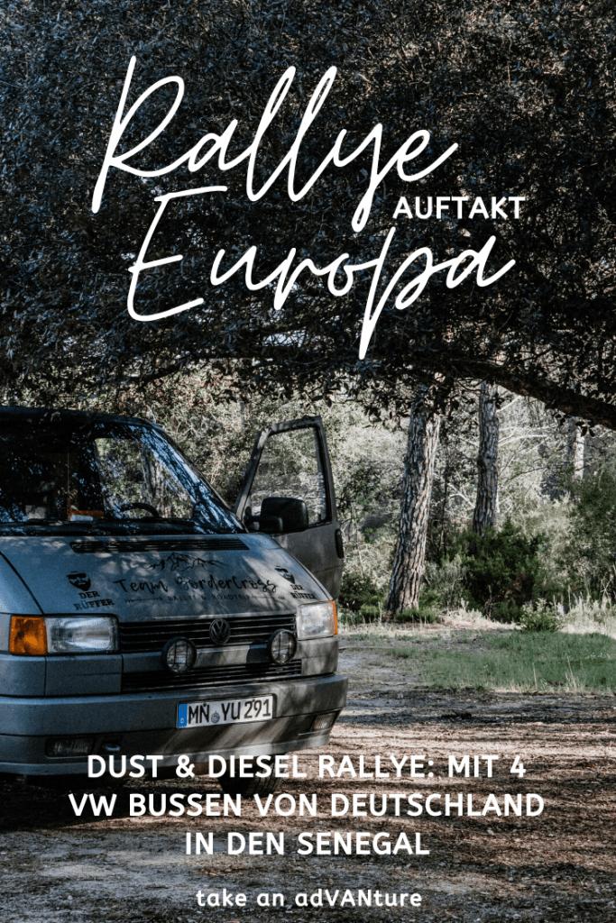 Dust & Diesel Rallye: Ein Roadtrip durch Europa.