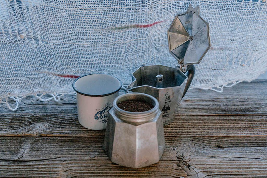 Kaffee kochen mit der Bialetti