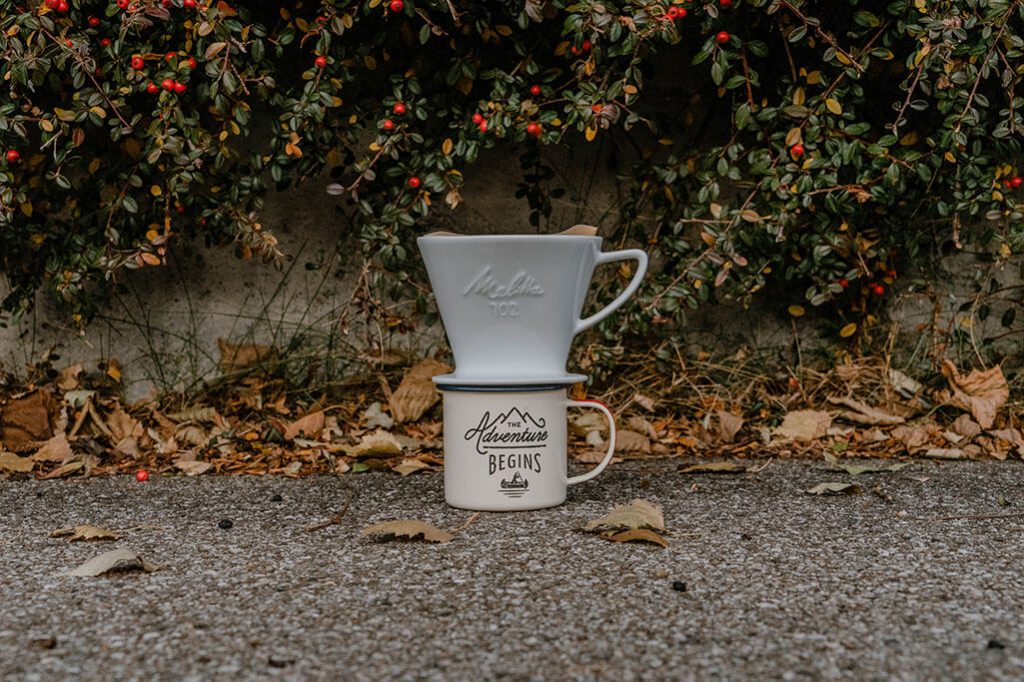 Pour Over Methode Camping