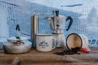 Kaffee kochen im Campervan