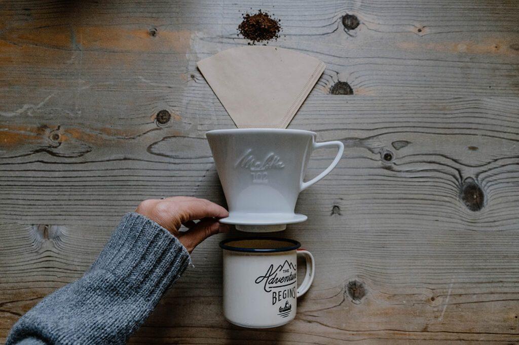 Kaffee kochen mit Melitta